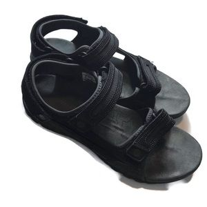Merrell Size 12 Sandspur Oak Black Sandals